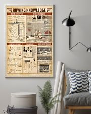 Rowing knowledge 11x17 Poster lifestyle-poster-1
