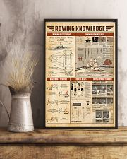 Rowing knowledge 11x17 Poster lifestyle-poster-3