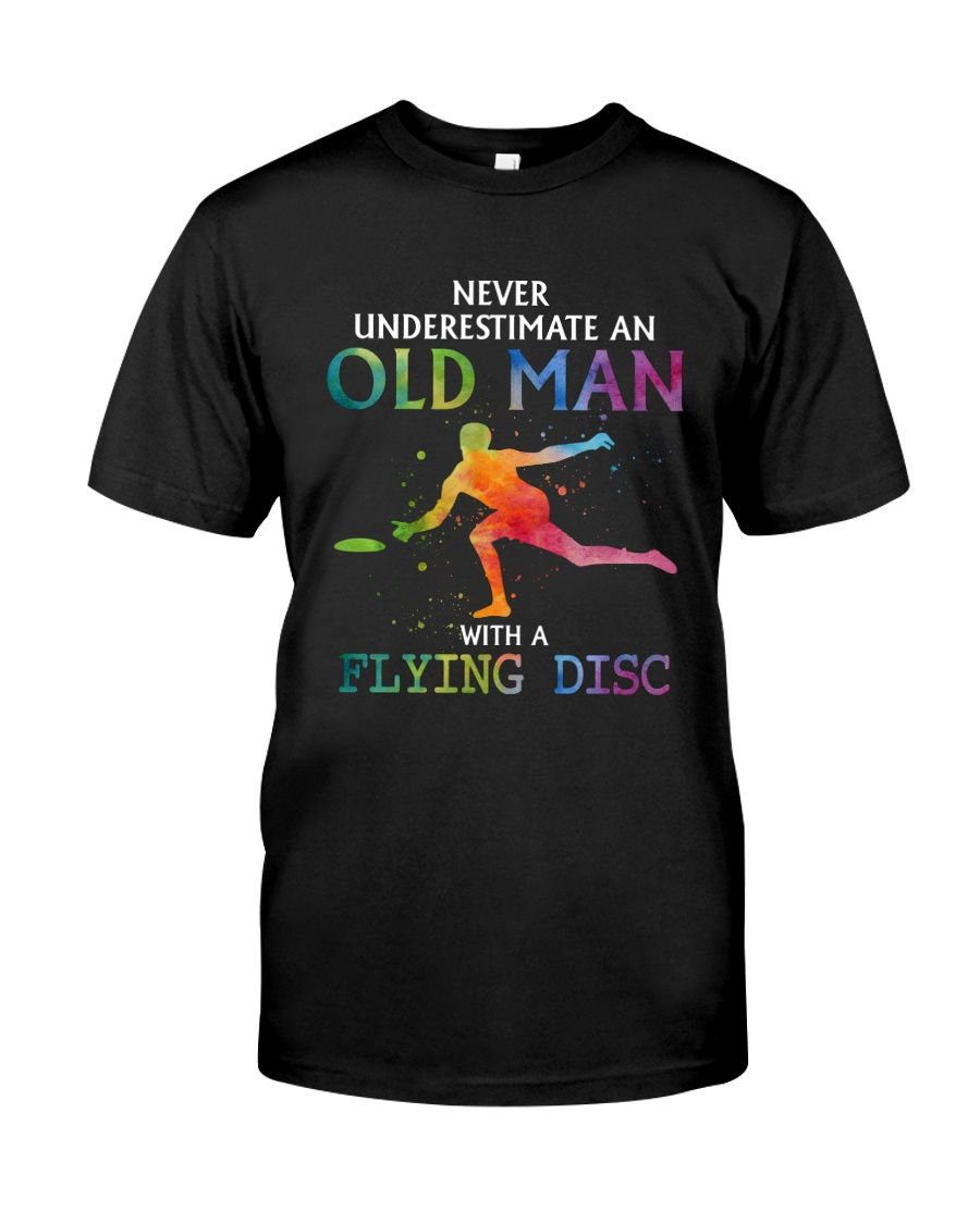Disc golf Never old man Classic T-Shirt