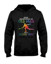Disc golf Never old man Hooded Sweatshirt thumbnail