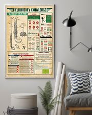 Field hockey knowledge 11x17 Poster lifestyle-poster-1