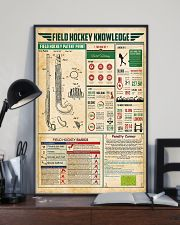 Field hockey knowledge 11x17 Poster lifestyle-poster-2