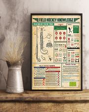 Field hockey knowledge 11x17 Poster lifestyle-poster-3