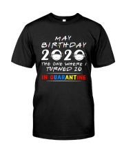 20 May birthday color Classic T-Shirt front
