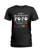 20 May birthday color Ladies T-Shirt thumbnail