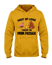 Shut Up Liver  Hooded Sweatshirt thumbnail