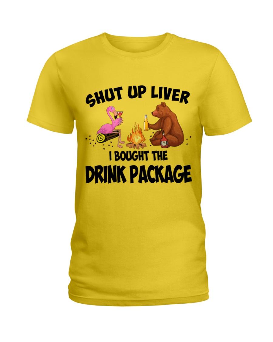 Shut Up Liver  Ladies T-Shirt