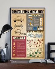 Powerlifting knowledge 11x17 Poster lifestyle-poster-2