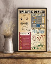 Powerlifting knowledge 11x17 Poster lifestyle-poster-3
