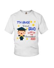 7th grade Virtual grad Youth T-Shirt front