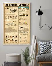Dog Sledding Knowledge 11x17 Poster lifestyle-poster-1