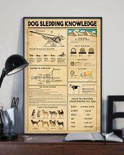 Dog Sledding Knowledge 11x17 Poster lifestyle-poster-2