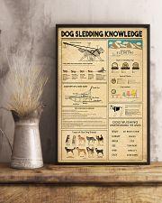 Dog Sledding Knowledge 11x17 Poster lifestyle-poster-3