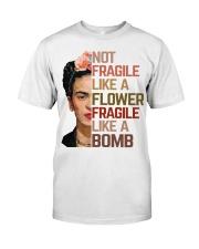 Frida Kahlo fragile sunflower Classic T-Shirt thumbnail