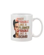 Frida Kahlo fragile sunflower Mug thumbnail