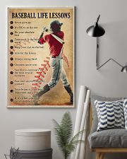 Baseball life lessons 11x17 Poster lifestyle-poster-1