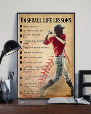 Baseball life lessons 11x17 Poster lifestyle-poster-2
