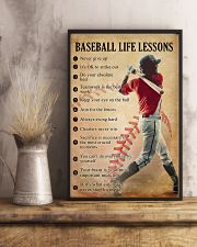 Baseball life lessons 11x17 Poster lifestyle-poster-3