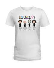 RBG equality Ladies T-Shirt thumbnail