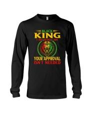 Black King Lion Long Sleeve Tee thumbnail