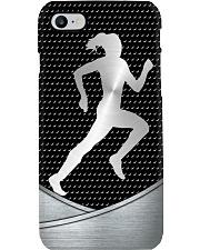 running Metal Print phone case Phone Case i-phone-8-case