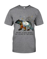 Camping nature color shirt Classic T-Shirt tile