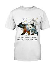 Camping nature color shirt Classic T-Shirt front