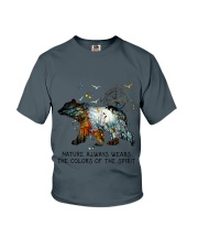 Camping nature color shirt Youth T-Shirt thumbnail