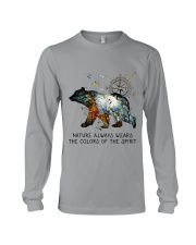 Camping nature color shirt Long Sleeve Tee thumbnail