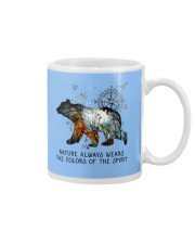 Camping nature color shirt Mug thumbnail