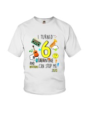 6 Turned Stop Me Youth T-Shirt front