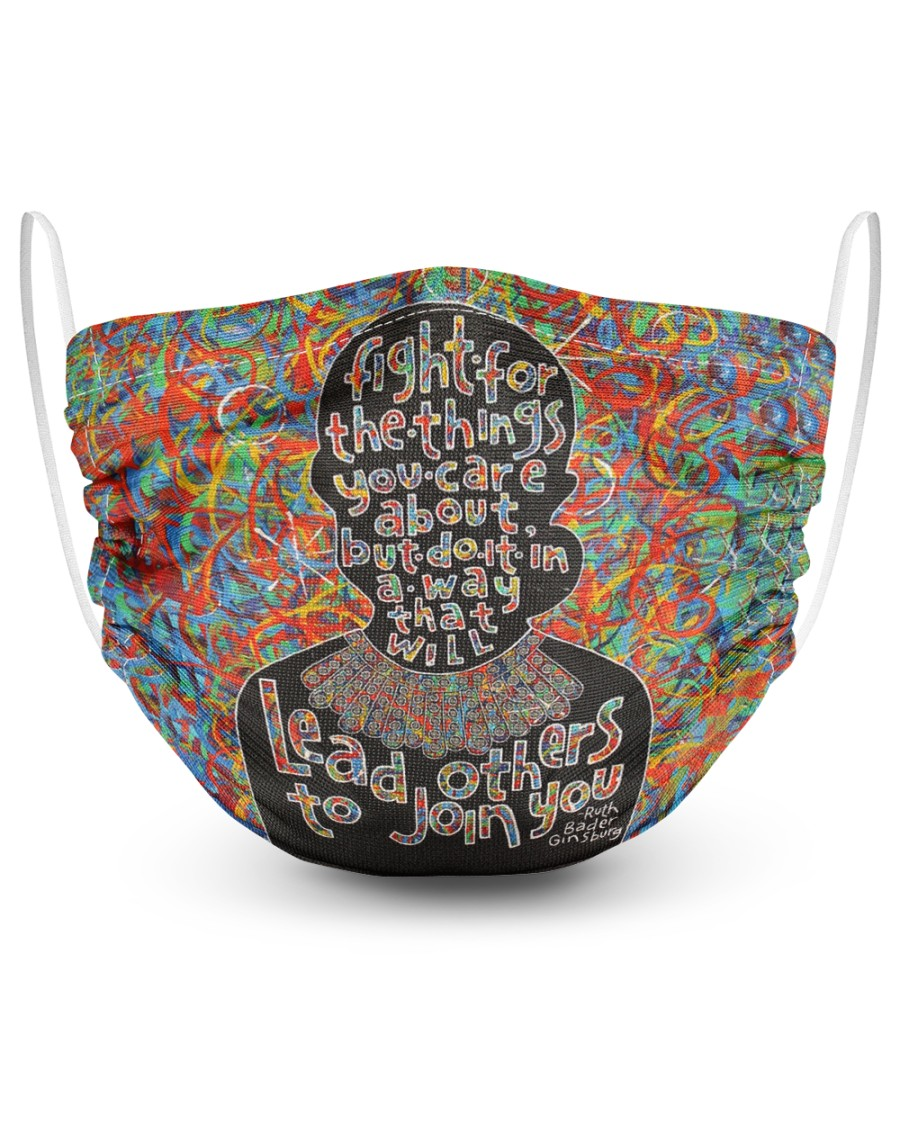 FM-H-27072015-TT-RBG quote 2 Layer Face Mask - Single
