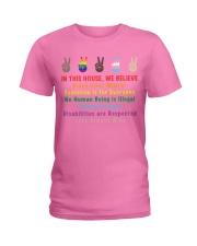 We believe yard sign Ladies T-Shirt thumbnail