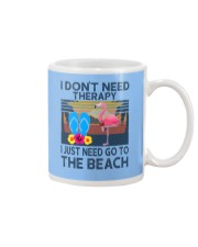 Wine Flip Flops Beach Therapy Mug tile