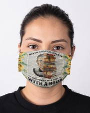 RBG with a book sunflower Cloth face mask aos-face-mask-lifestyle-01