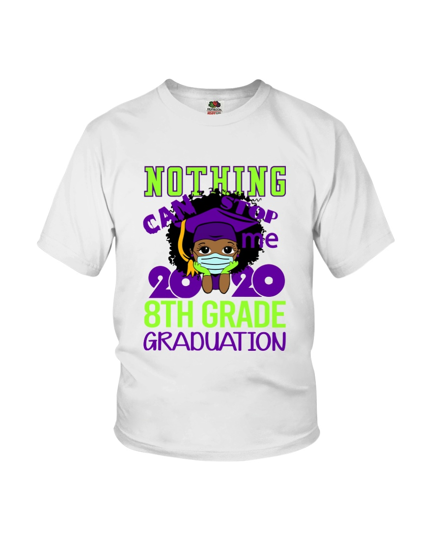 8th Black Girl Nothing Stop Youth T-Shirt