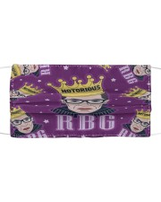 RBG notorious star Cloth face mask thumbnail