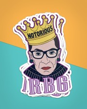 RBG notorious star Sticker - 6 pack (Vertical) aos-sticker-6-pack-vertical-lifestyle-front-02