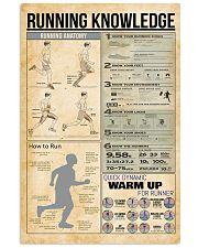 Running knowledge 11x17 Poster front