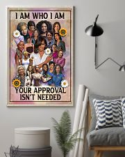 I am who I am 11x17 Poster lifestyle-poster-1