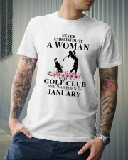 Golf January Woman Love Shirt Classic T-Shirt lifestyle-mens-crewneck-front-6