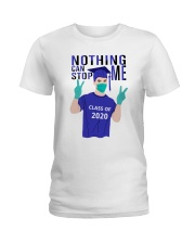 White Boy Nothing Can Stop Me Ladies T-Shirt tile