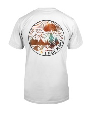 Wander woman front Classic T-Shirt back