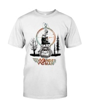 Wander woman front Classic T-Shirt front