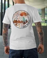 Wander woman front Classic T-Shirt lifestyle-mens-crewneck-back-3