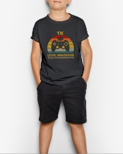 TK Level unlocked vintage Youth T-Shirt lifestyle-youth-tshirt-front-1