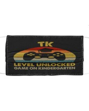 TK Level unlocked vintage Cloth face mask thumbnail