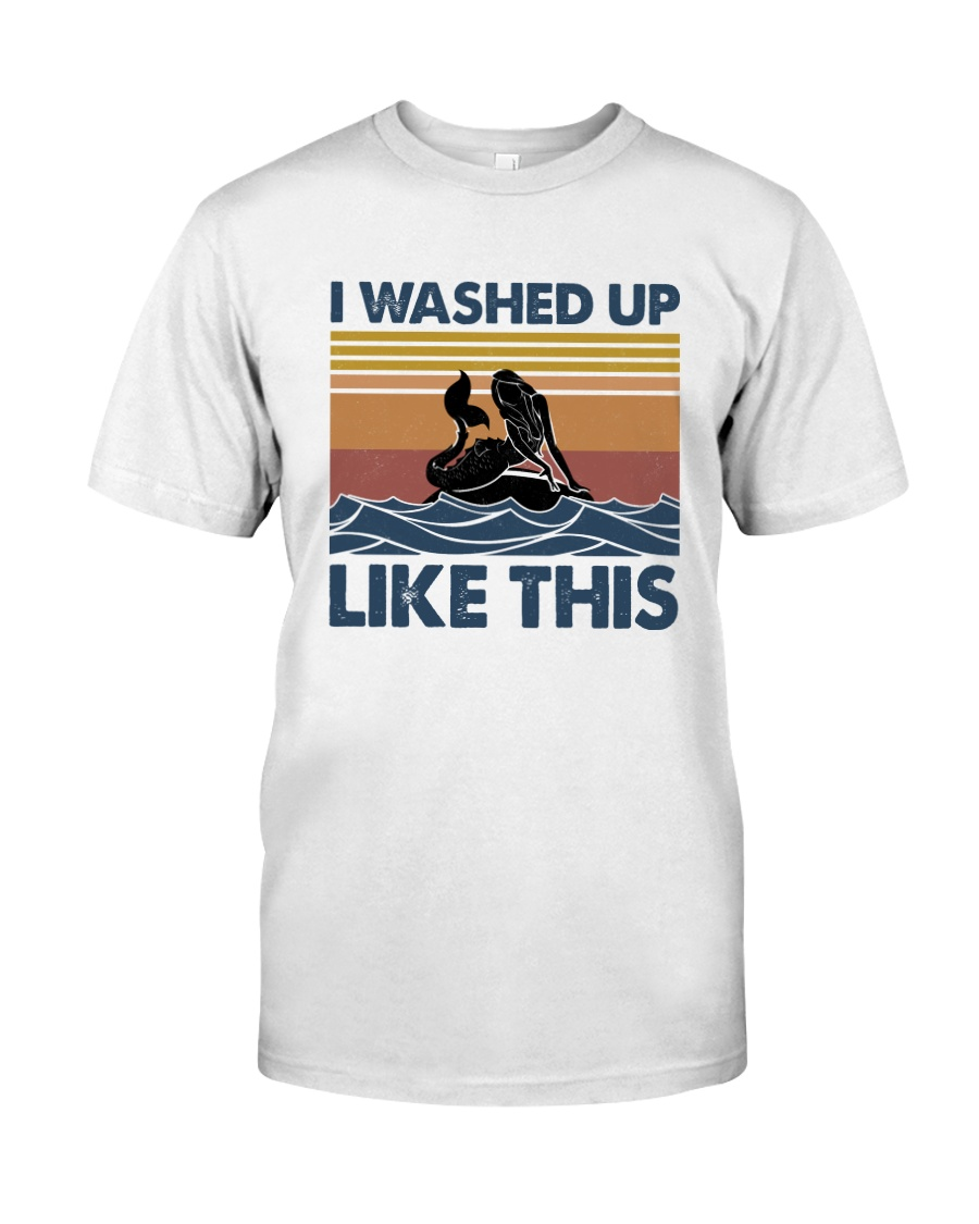 Washed Up Mermaid Classic T-Shirt