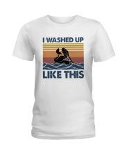 Washed Up Mermaid Ladies T-Shirt thumbnail