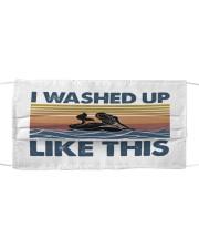 Washed Up Mermaid Cloth face mask thumbnail